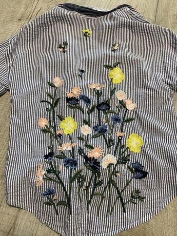 Рубашка на завязке