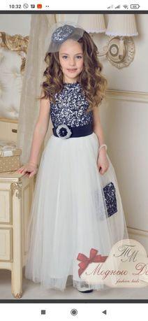 Продам нарядное шикарное платье для девочки