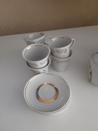 Чашки кофейные блюдца