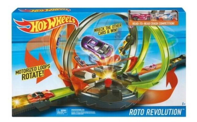 Hot Wheels Tor HW Zestaw Roto Rewolucja FDF26