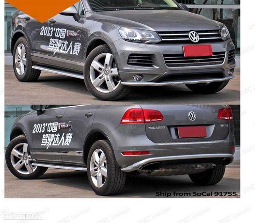 LIP / SPOILER FRONTAL + DIFUSOR / SPOILER TRASEIRO VW TOUAREG 7P6 10-14
