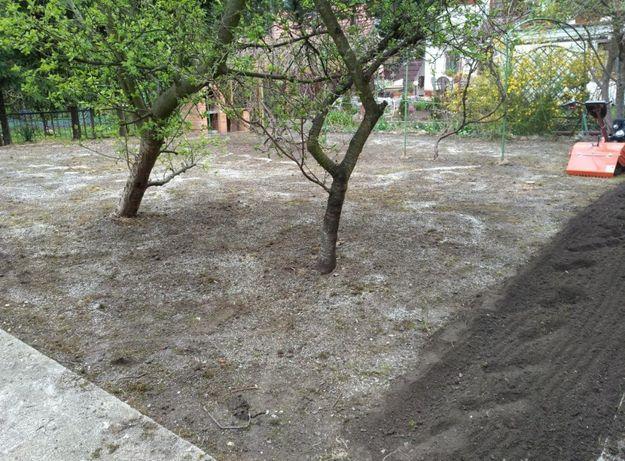 Glebogryzarki przekopywanie ziemi wykaszanie trawy koszenie trawy