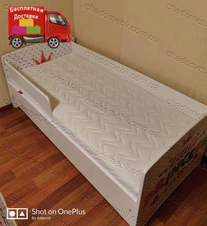 Дитяче Ліжко / Ліжко для Дитини/ Ліжечко для Дівчини Розстрочка Кредит
