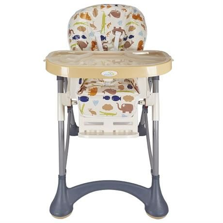 Стульчик для кормления детский на возраст от 6 месяцев до 3 лет