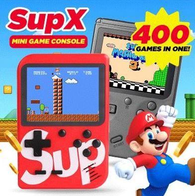Consola de jogos - 400 jogos