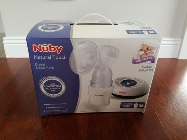 Nuby Natural Touch laktator elektryczny dwufazowy NOWY