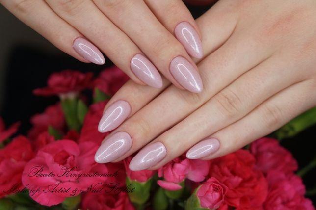 Przedłużanie paznokci , paznokcie żelowe ,manicure hybrydowy