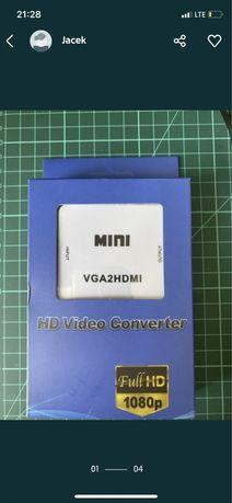 Konwerter VGA do Hdmi