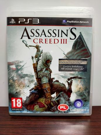 Assassin's Creed III PS3 PL stan idealny