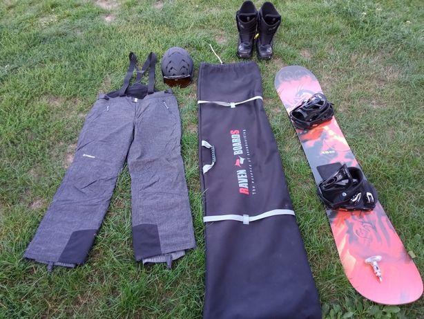 Zestaw snowboardowy