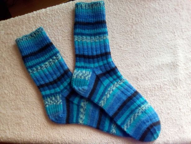 Вязаные носочки, разм. 37-38