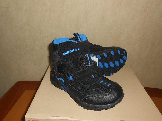 Зимние ботинки Merrell р.us10 - 17,5см. Новые