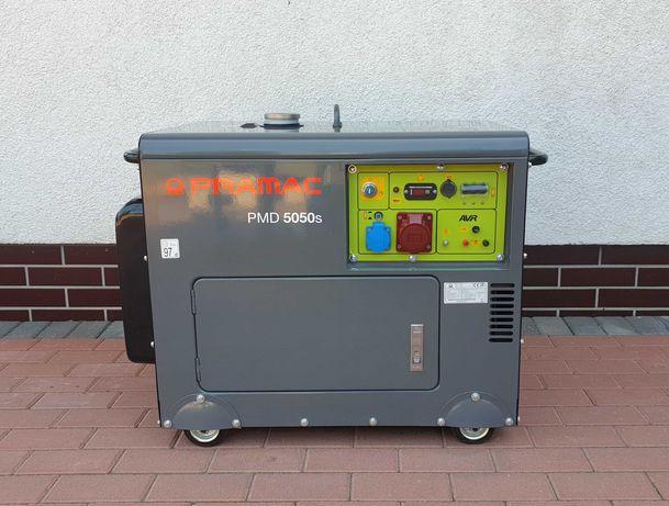 Domowy Agregat Prądotwórczy DIESEL 4,5/5,0 kW zabudowany, wyciszony
