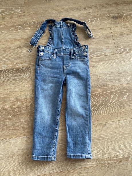 Детский джинсовй комбинезон