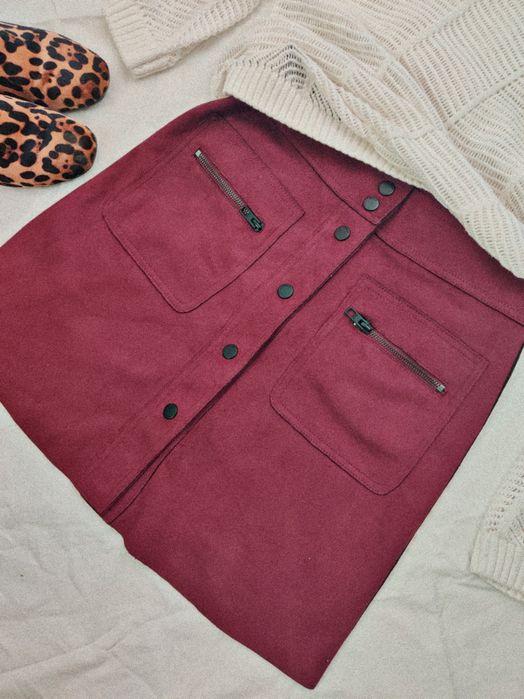 Замшевая юбка ONLY Чигиринская - изображение 1