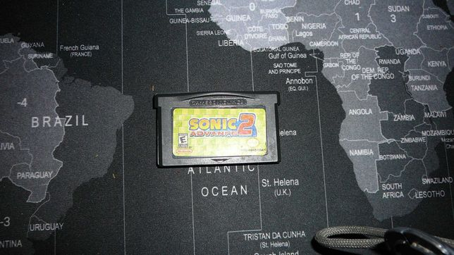 gra Sonic  2 Advance Gameboy Game Boy