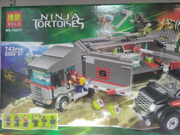 Конструктор 10277 Ninja turtles