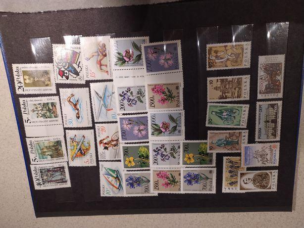 Klaser ze znaczkami Kolekcja znaczkow pocztowych