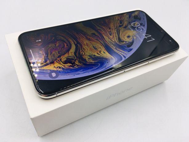 iPhone XS MAX 256GB SILVER • PROMOCJA • Gwarancja 1 MSC • AppleCentrum