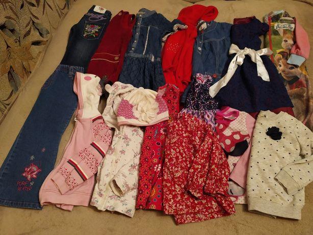 Набор, пакет одежды для девочки 2-3года