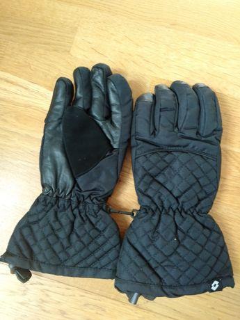 Rękawiczki Lotto narciarskie damskie czarne