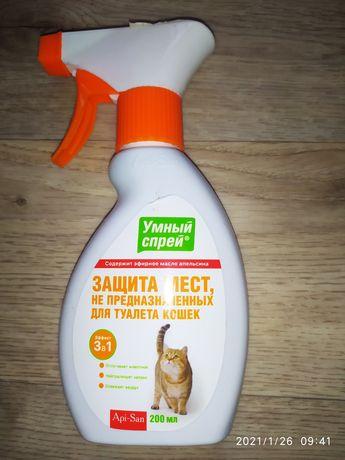 Спрей от запаха кота