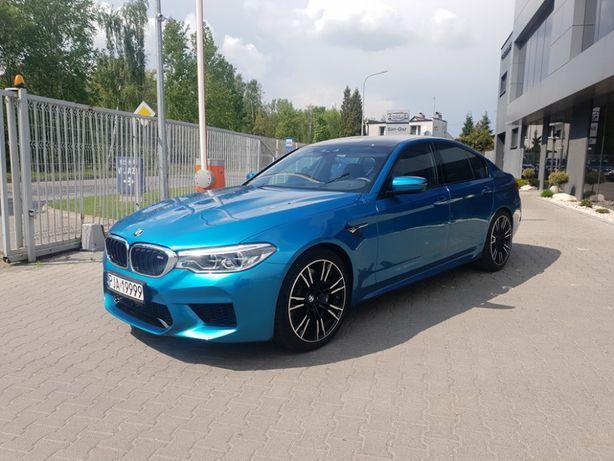 Wynajem BMW M5 F90 - 600 KM - Wypożyczalnia