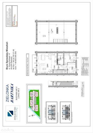 Mieszkanie w zabudowie szeregowej w Zielonce
