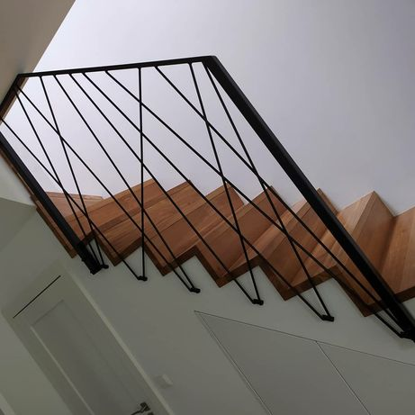 Balustrada industrial loft
