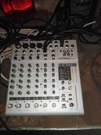Phonic mu 1202x микшерний пульт