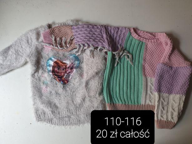Swetry dziewczęce