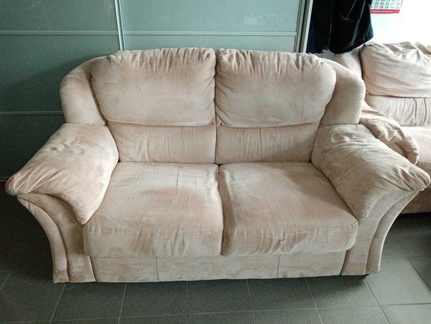 Sofa dwuosobowa nierozkładana