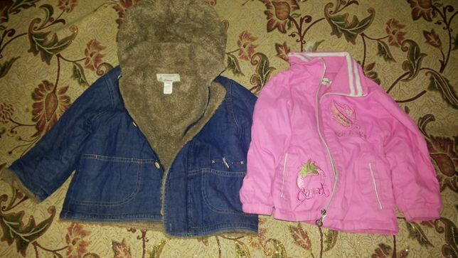 Пакет одежды для девочки 1.5-2.5 года (№4)