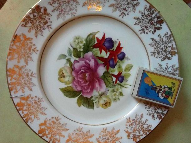 Тарелка коллекционная    Англия