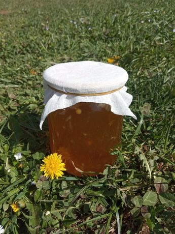 варення з кульбаби , мед з кульбаби