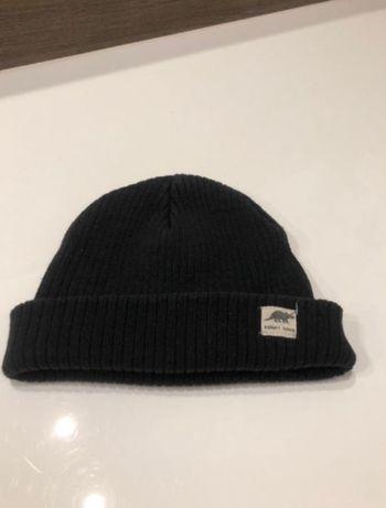 czapka Zara prążki 80 96 czarna