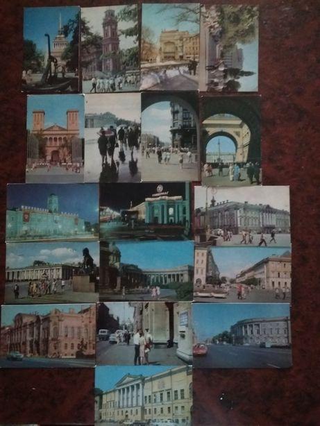 Поштові листівки Ленінград