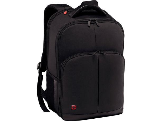 """WENGER solidny plecak Link 16"""" 24l Pass-Thru NOWY * Szwajcarska jakość"""