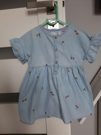 Sukienka Zara 92 stan bdb