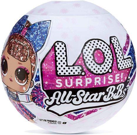 LOL Surprise Series 2 Cheer Team Sparkly Dolls LOL. ЛОЛ. Шар. Кукла