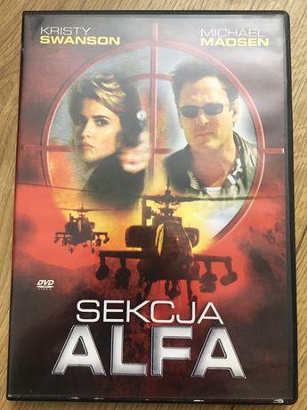 Płyta DVD film sekcja alfa