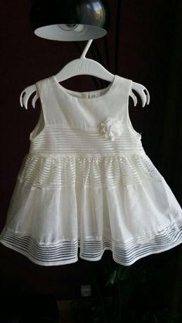 Sukienka ecru H&M
