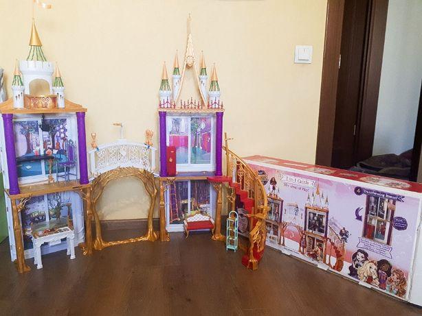 Продам большой кукольный Замок Школа Mattel Эвер Афтер Хай 2в1