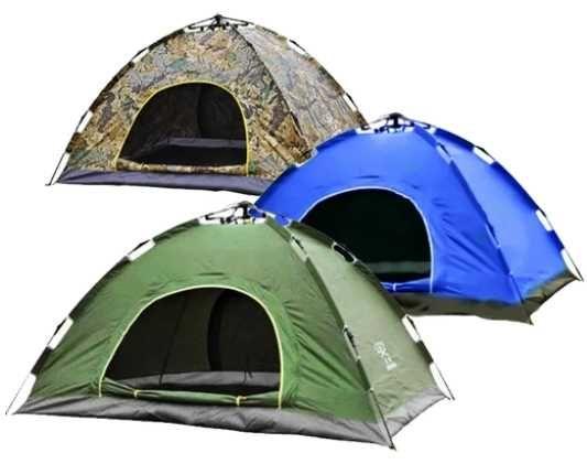 Туристическая палатка автомат 2-х местная для отдыха и походов