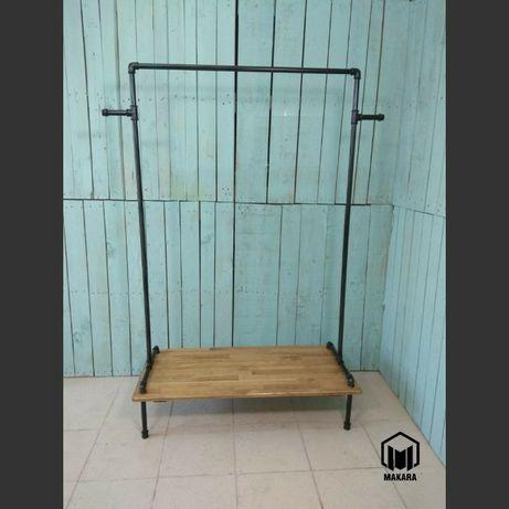 Вешалка №31 loft для одежды мебель лофт стойка торговое оборудовани