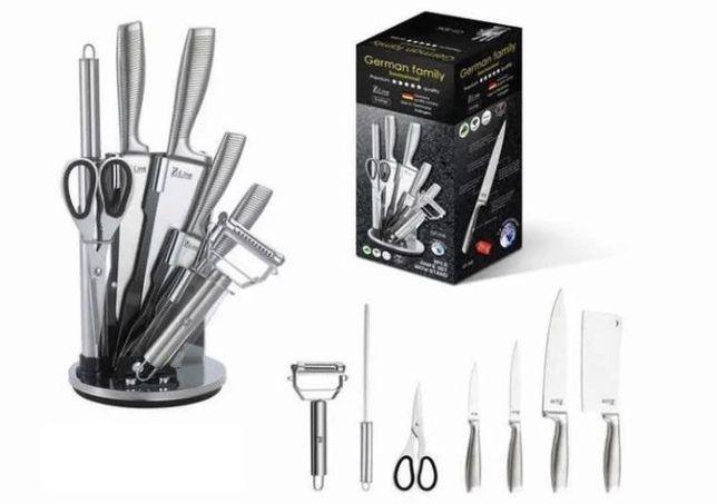 Набор ножей с подставкой , кухонный нож, кухонные ножницы, приборы