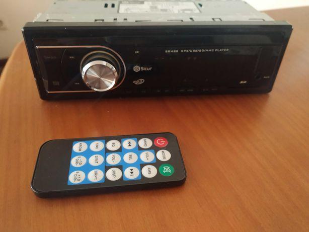 Auto rádio+impressora, teclado e rato