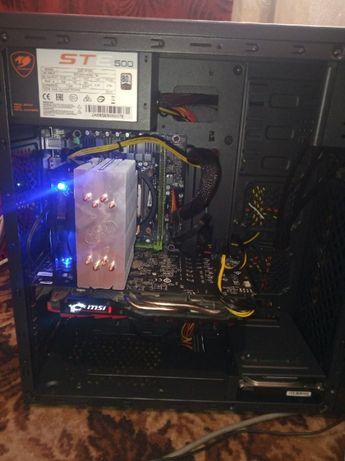 Игровой компьютер, rx 470 (480) 4gb / 16gb ram / e5-2640 6 ядер