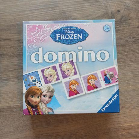 Domino z frozen, kraina lodu.