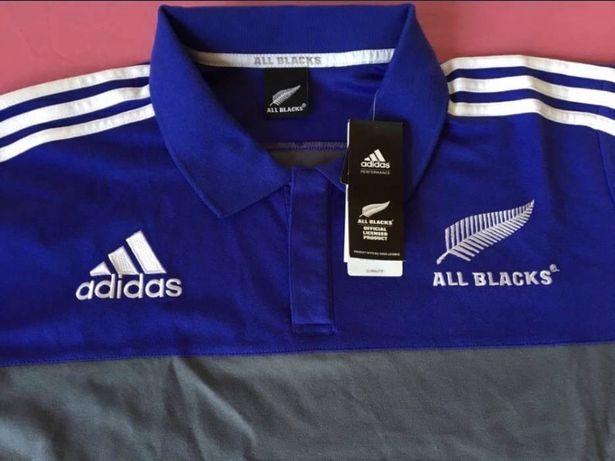"Camisola de Rugby Adidas New Zealand"" -Novo"
